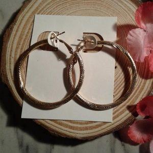 hoop earrings  $3 each or 20 for $12